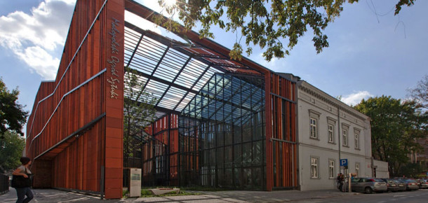 Małopolski Ogród Sztuki w Krakowie. Projekt: Ingarden & Ewý Architekci