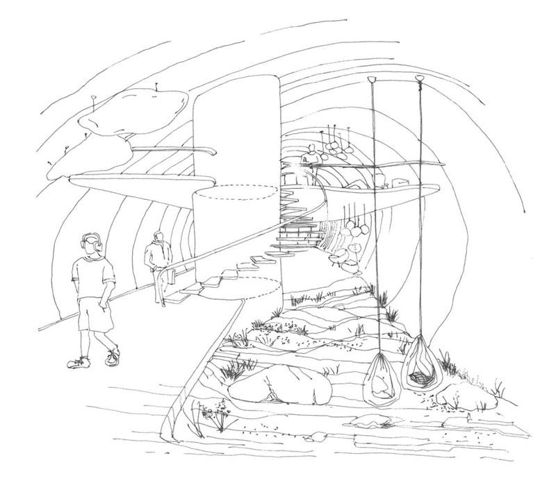 Zespół domów w układzie pasmowo-szeregowym. Projekt: Karolina Chodura, WA Politechniki Śląskiej