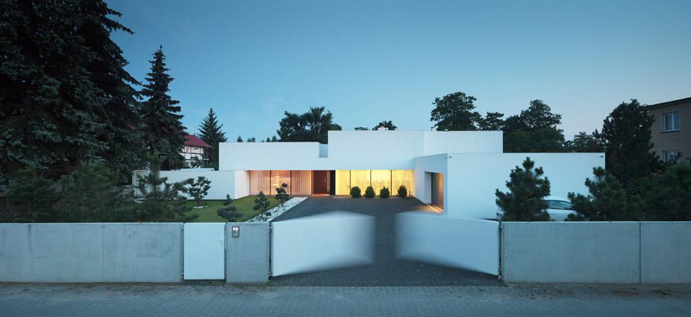 Dom na linii horyzontu. Projekt: KMA Kabarowski Misiura Architekci