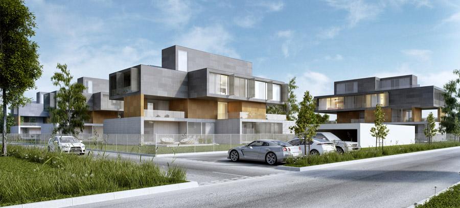 LAYERS - Apartamenty w Warszawie. Projekt: Mobius Architekci