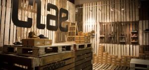 Wnętrze sklepu Clae Pop-Up – mode:lina architekci