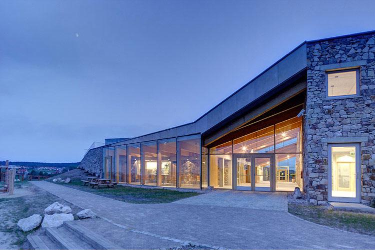 Centrum Geoedukacji w Kielcach. Projekt: PALK Architekci