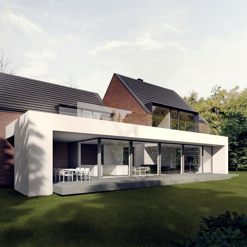 Dom Ki-House we Wrocławiu. Projekt: Tamizo Architects Mateusz Stolarski