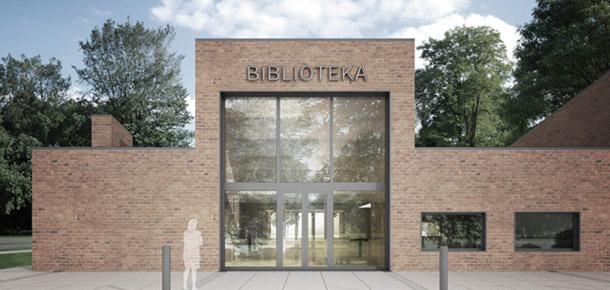 Gminna Biblioteka Publiczna w Michałowicach. Projekt: 9780 Architekci Homiński Jezierski