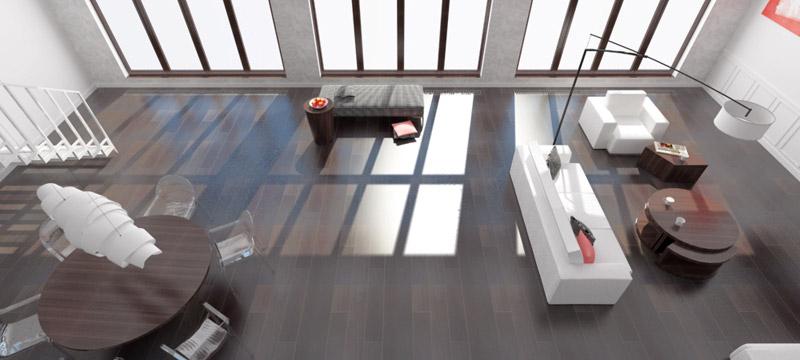 Aranżacja wnętrza domu jednorodzinnego. Projekt: CREOLINE Patrycja Krupińska