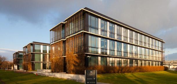 Budynek biurowy Cristal Park w Warszawie. Zdjęcia: Piotr Krajewski