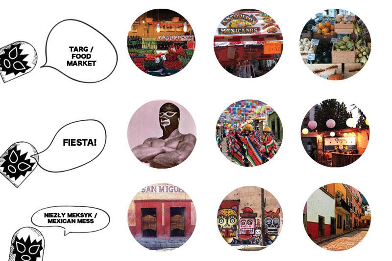 Restauracja Meksykańska Guac'n'Ole. Projekt: mode:lina architekci