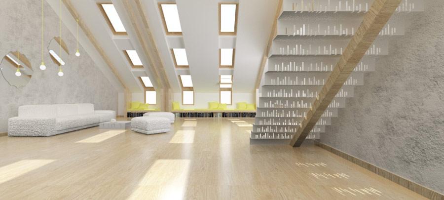 New vision of the loft 2. Projekt: Patrycja Krupińska i Urszula Tracz