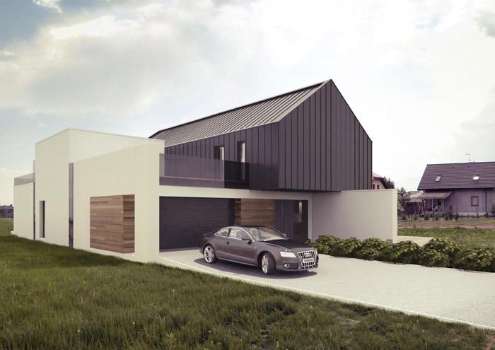 Dom w Radzanowie. Projekt: Reform Architekt