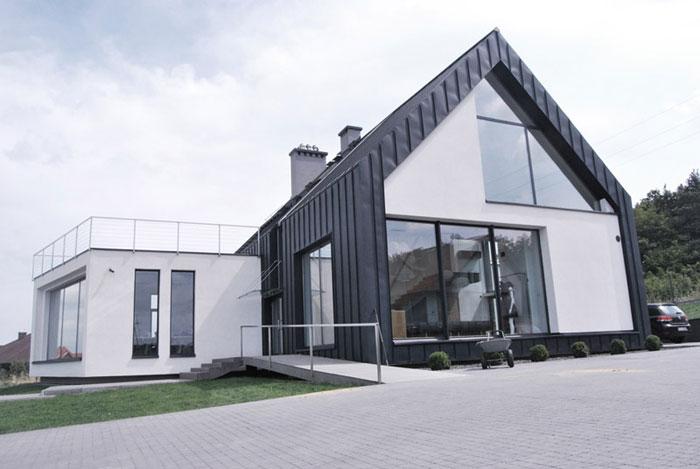 Dom Mody niedaleko Kielc. Projekt: Tera Group