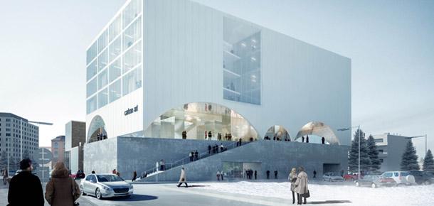 Centrum Kultury Carbon Art w Zabrzu. Wyróżnienie: Warsztat Architektury Pracownia Autorska