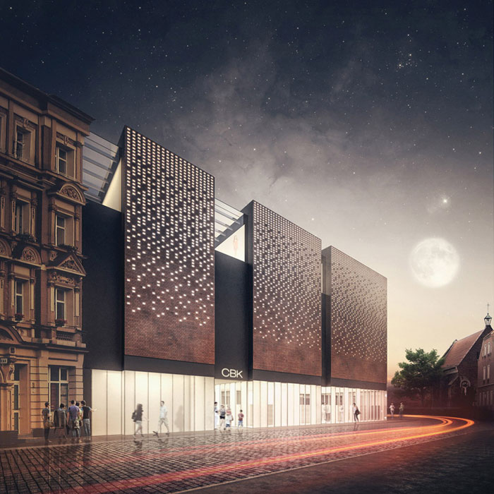 Centrum Biblioteczno-Kulturalne we Wrocławiu. Projekt: 81.WAW.PL