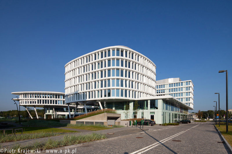 Business Garden Warszawa. Projekt: Studio Fuksas