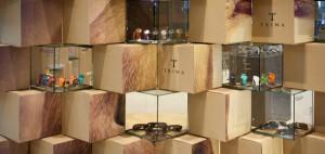 Tymczasowy sklep z zegarkami marki Triwa – mode:lina architekci