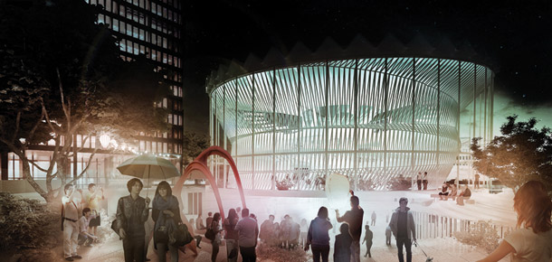 Changing The Face 2013 Rotunda Warsaw. Projekt: MUS Architects
