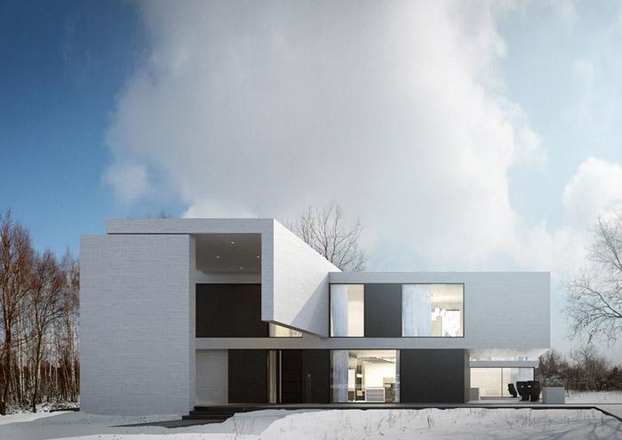 Dom w Łagiewnikach. Projekt: Reform Architekt
