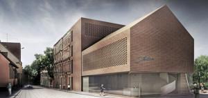 Centrum Biblioteczno-Kulturalne we Wrocławiu. Projekt: Pracownia Architektoniczna WXCA