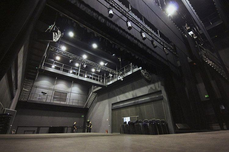 Teatr przy Szkole Łejery w Poznaniu. Projekt: Przemysław Borkowicz Architekt