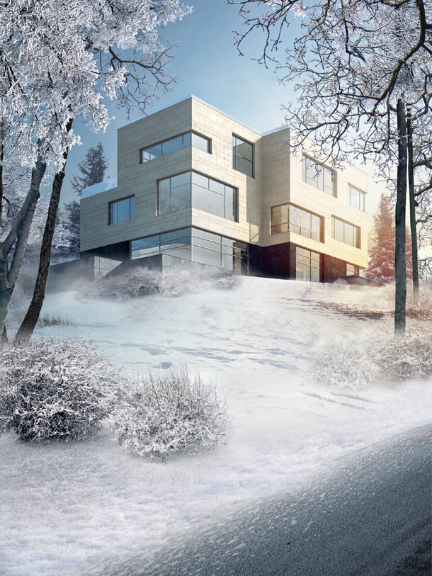 Apartamenty Morskie Oko w Warszawie. Projekt: Grupa 5 Architekci