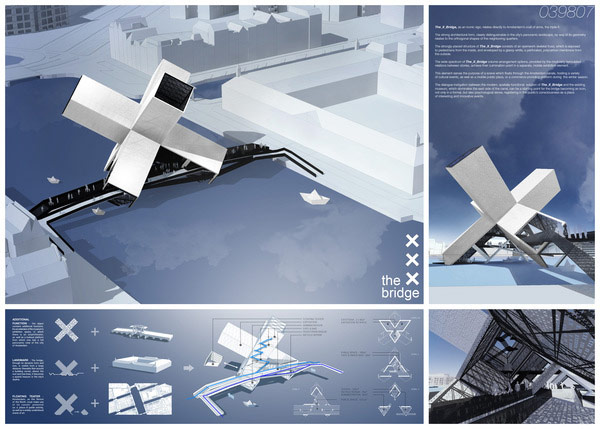X-Bridge. Projekt: GOWINSIUTA Studio