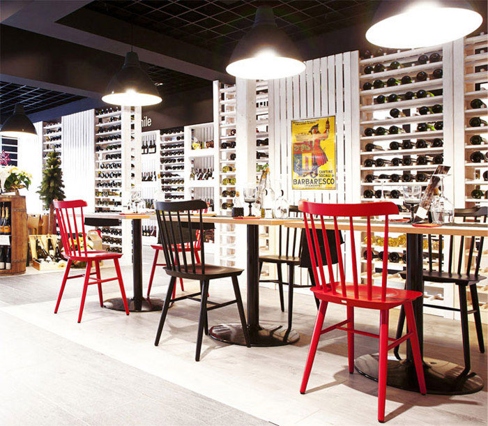 fiesta del vino wine bar mode lina architekci. Black Bedroom Furniture Sets. Home Design Ideas