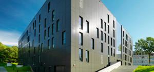 Biblioteka Uniwersytecka w Zielonej Górze. Projekt: NOW Biuro Architektoniczne