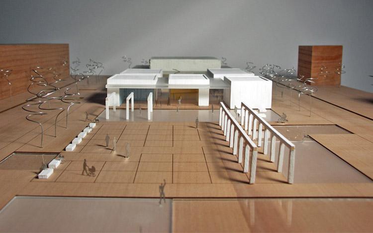 Centrum Kultury i Aktywności Lokalnej Nowe Żerniki. Projekt: R132 Architekci