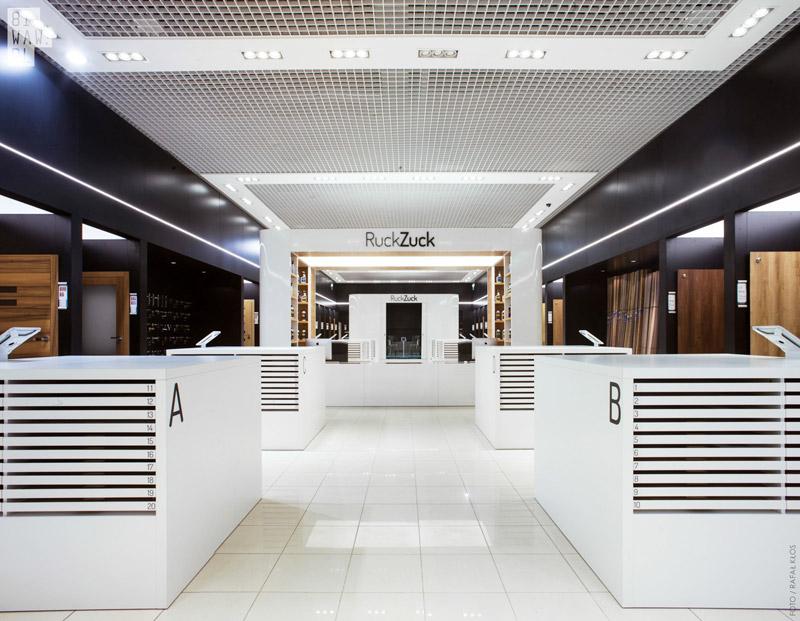 Multimedialny salon RuckZuck. Projekt: 81.WAW.PL