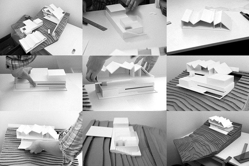 Dom Artysty. Projekt: BXB Studio Bogusław Barnaś