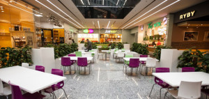 Food Court w Centrum Handlowym Plac Unii – Forbis Group