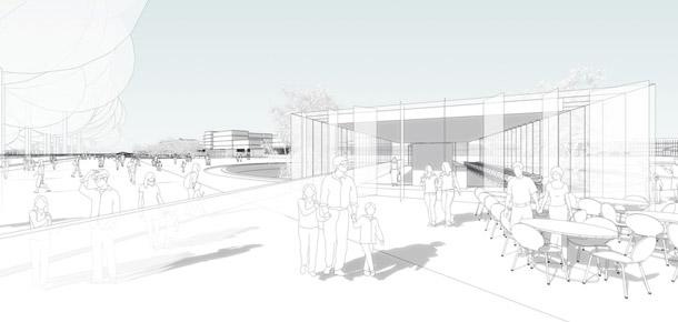 Ogród XXI wieku - Łazienki Królewski w Warszawie. Projekt: Gowinsiuta Studio