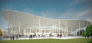 Stadion Piłkarski w Chorzowie - Wyróżnienie w konkursie