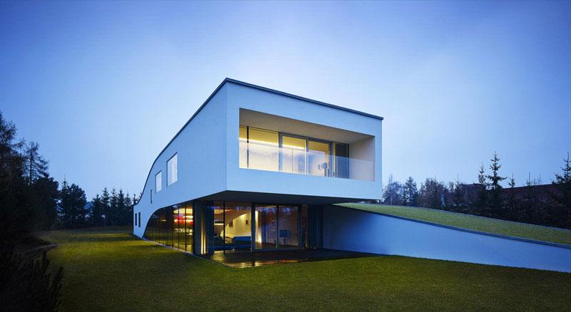 Dom Autorodzinny projektu Roberta Koniecznego i KWK Promes