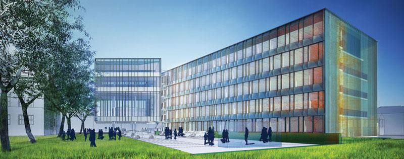 Sąd Rejonowy w Nysie. Projekt: Atelier Loegler