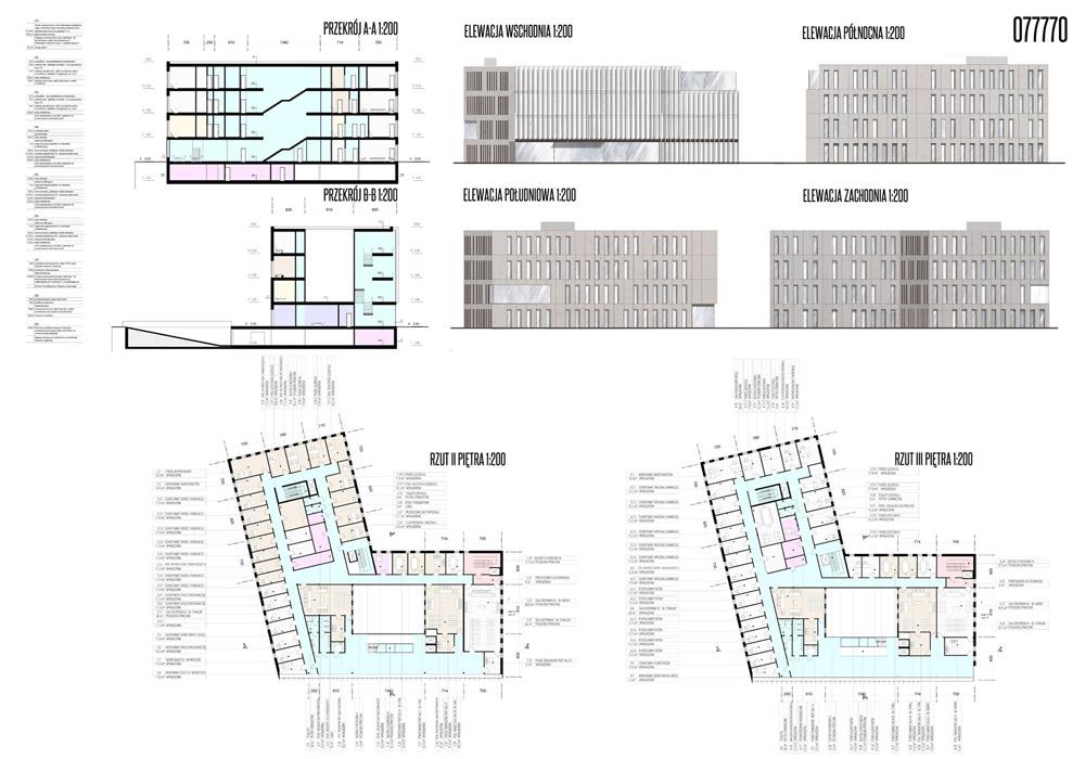 Sąd Rejonowy w Nysie. Projekt: Meteor Architects
