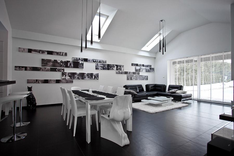 Wnętrza prywatne. Projekt: Modero Architekci
