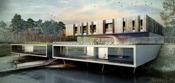 Hotel & Spa. Projekt: Modero Architekci