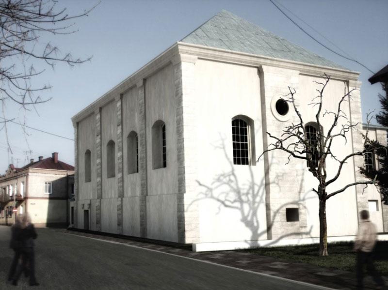 Świętokrzyski Sztetl w Chmielniku. Projekt: Nizio Design International