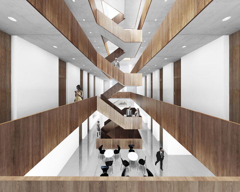 Sąd Rejonowy w Nysie. Projekt: PAG Pracownia Architektury Głowacki