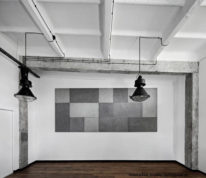 Beton we wnętrzach według polskich projektantów