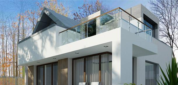 Modernizacja Domu na Zalesiu w Piasecznie. Projekt: Jabra Architects