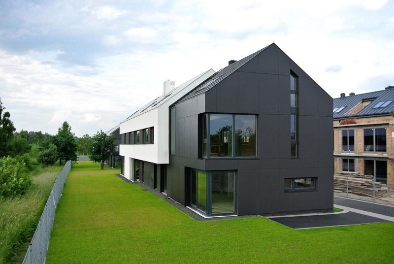 Osiedle Black & White w Krakowie. Projekt: KITA KORAL Architekci