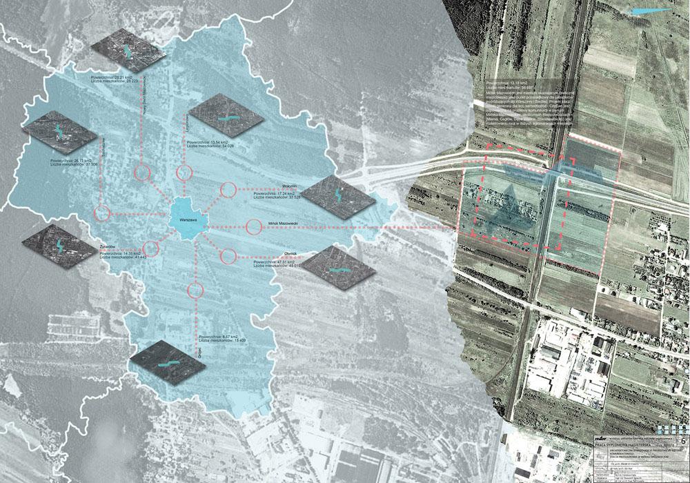 Stacja przesiadkowa w Mińsku Mazowieckim. Projekt: Marek Gliniewicz