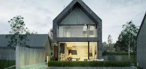 Dom ze SPAdkiem – Tamizo Architects Mateusz Stolarski