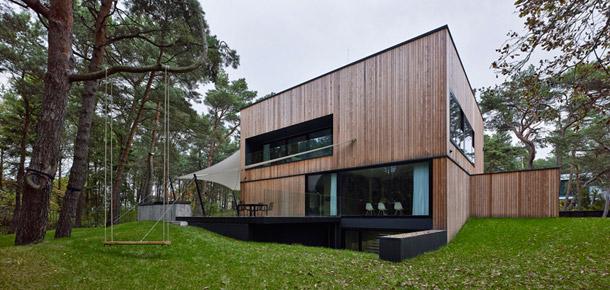 Dom nad morzem. Projekt: Ultra Architects