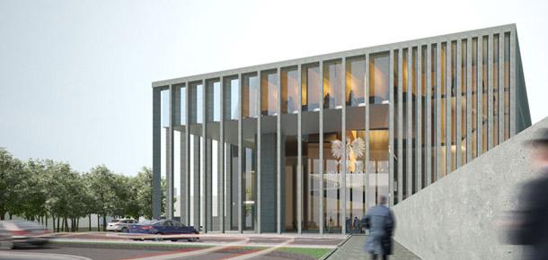 Sąd Apelacyjny w Poznaniu. Projekt konkursowy: 3MA Studio we współpracy z Perspektywa