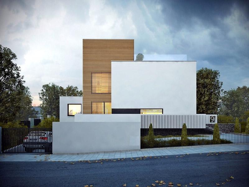 Dom w Orłowie. Projekt: JPP Architeki / LUK Studio