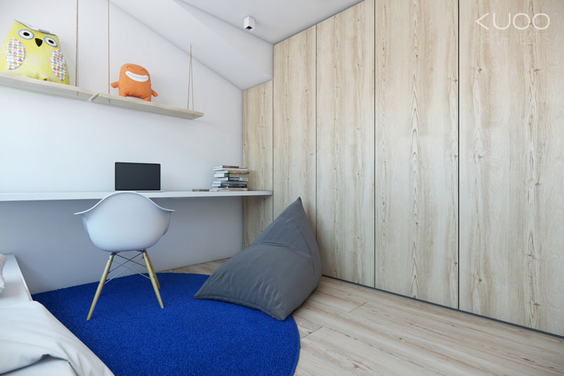 Wnętrza domu szeregowego w Hadze. Projekt: KUOO Architects