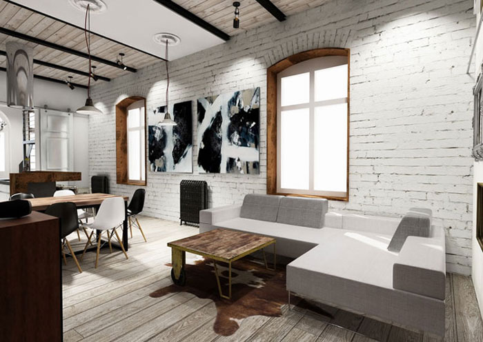 Apartament w Sopocie. Projekt: LUK Studio