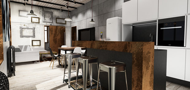 Apartament w centrum Sopotu – LUK Studio